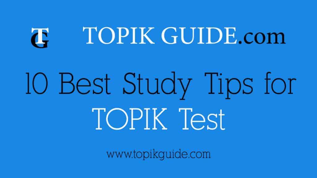Topik - Test of Proficiency in Korean - Topik …