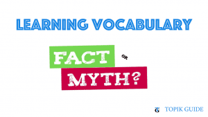 8 Common myths about Learning Vocabulary