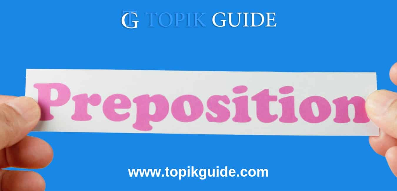 Korean prepositions